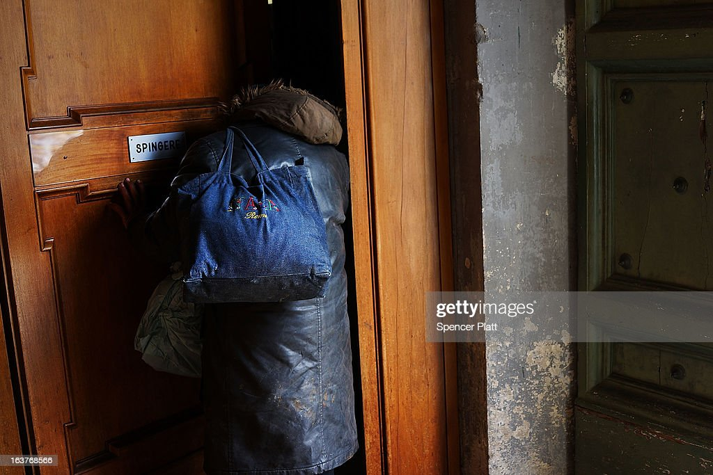 A homeless man enters a Catholic church on March 15, 2013 in Rome, Italy. Newly elected Pope Francis, formerly Cardinal Jorge Mario Bergoglio of Buenos Aires, has been a strong advocate for the poor and disenfranchised throughout the world. A Jesuit, Francis has followed the tradition of his order whose members live spartan, communal lives of poverty. Many analysts believe his papacy will see increased outreach and advocacy for the poor.