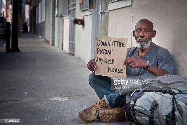 Homeless Man on the Street