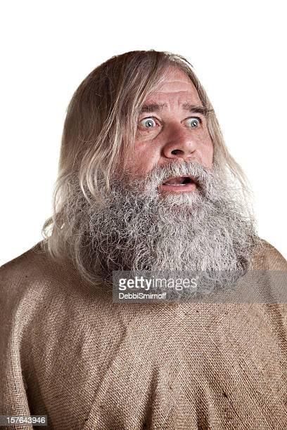 Homeless Man's Portrait