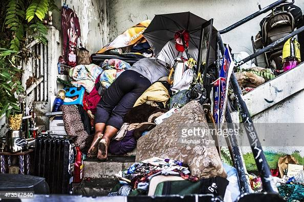 Echo park los angeles stock photos and pictures getty images for Los angeles homeless shelter