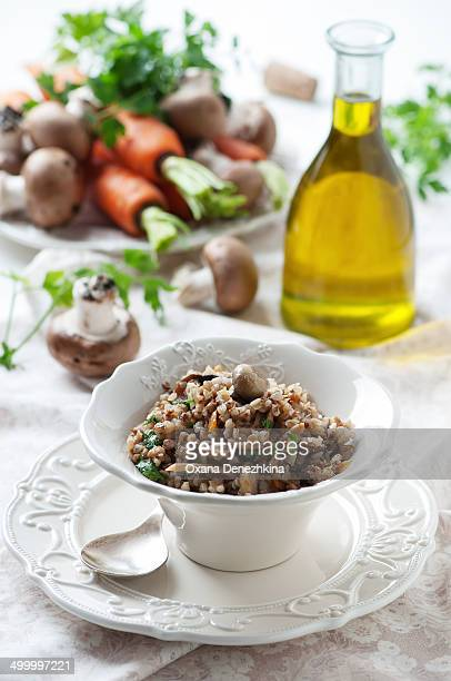 Homemade buckwheat