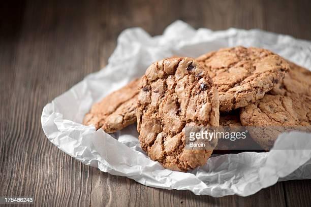 ホームメイドのチョコレートクッキー