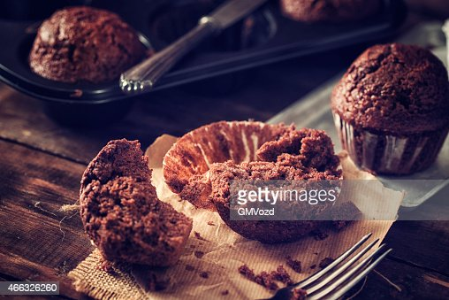 Homemade Chocolate Muffins