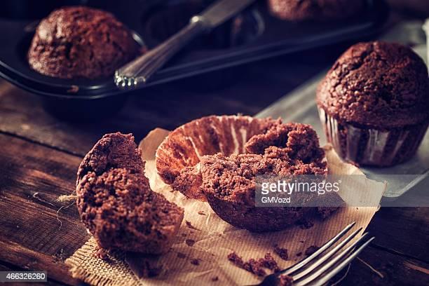 Muffin al cioccolato fatti in casa