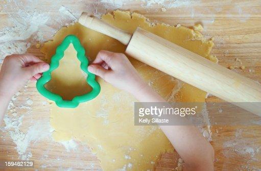 Homemade Christmas Cookies : Stock Photo