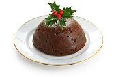 homemade christmas pudding