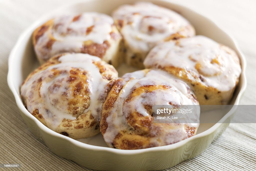 Homemade cinnamon breakfast rolls