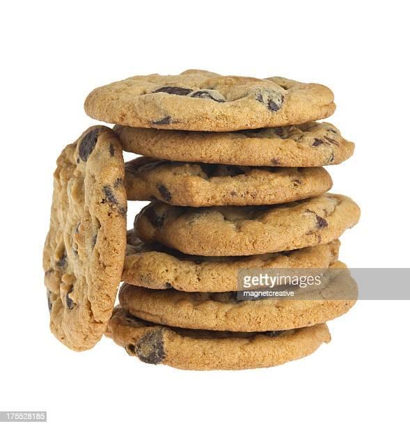 Pile de biscuits maison