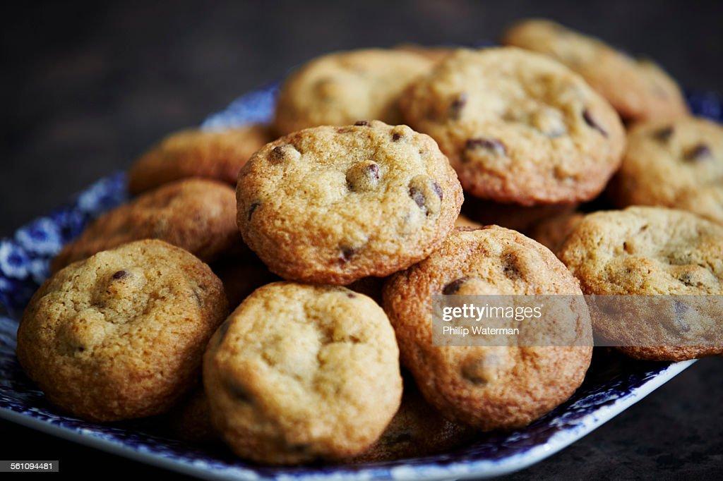 Homemade cookies, close up