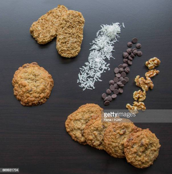 Homemade cookies with ingredient