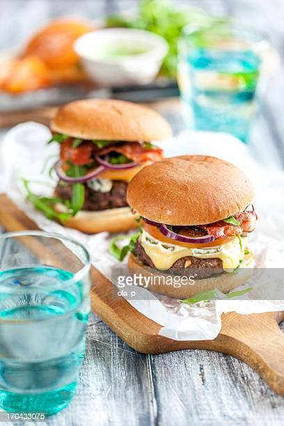hamburgers faits maison