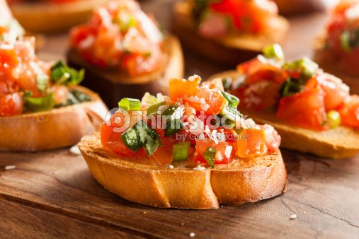 La bruschetta italienne maison horsd uvre photo thinkstock for Entree italienne