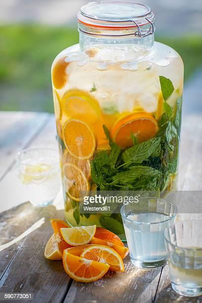 Homemade orangeade