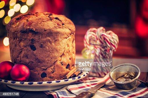 Homemade Panettone Christmas Cake