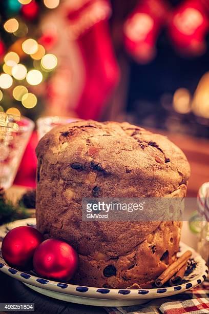 Feito em Casa Bolo de Natal Italiano Bolo de Natal