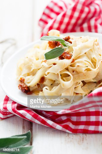 Homemade pasta : Stock Photo