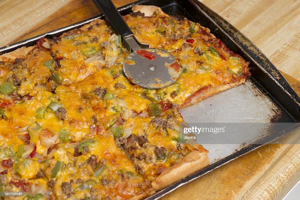 Homemade Pizza : Stock Photo