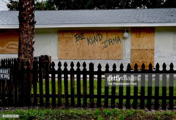 A homeowner in Bonita Springs makes a plea to Hurricane Irma A Sunday morning tour of the area around Bonita Springs and Estero Florida revealed...