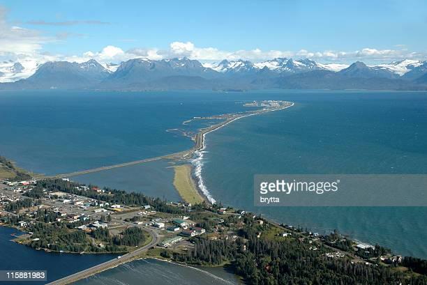 Homer Spit,Kachemak Bay,Alaska,USA
