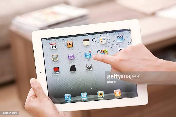 Homescreen に Apple iPad 2 の 3 G
