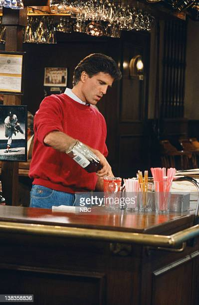 CHEERS 'Homicidal Ham' Episode 4 Air Date Pictured Ted Danson as Sam Malonee