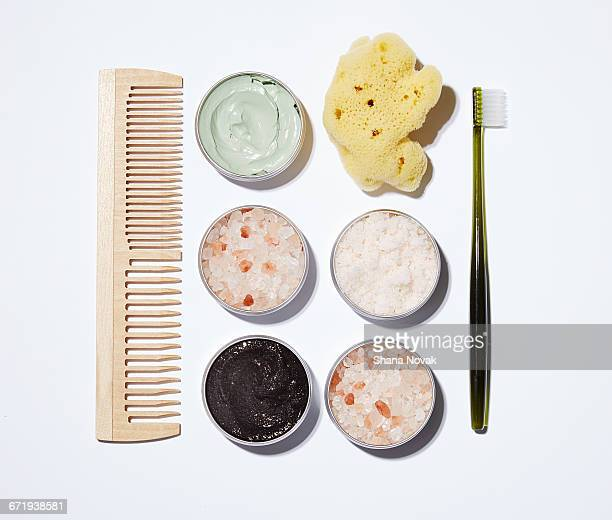 Hommade Beauty Products on a Grid