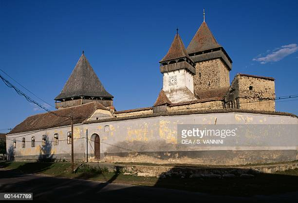 Homorod fortified church Transylvania Romania 13th16th century
