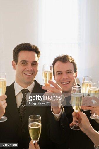 Homosexual wedding ceremony