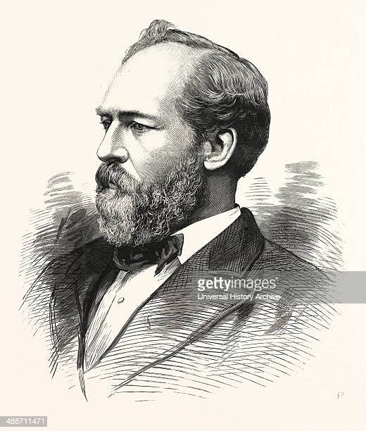 Hon James A Garfield PresidentElect Of The United States