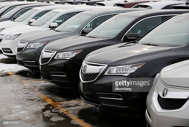 Acura stock photos and pictures getty images for Honda motor company stock
