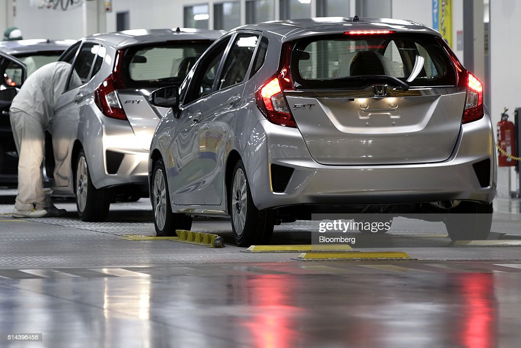 Inside View Of Honda Motor Co 39 S Yorii Plant Getty Images