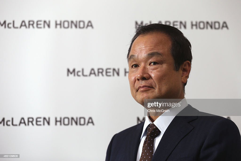 Honda Motor Co.,Ltd. President, Chief Executive Officer and Representative Director <a gi-track='captionPersonalityLinkClicked' href=/galleries/search?phrase=Takanobu+Ito&family=editorial&specificpeople=5696906 ng-click='$event.stopPropagation()'>Takanobu Ito</a> is interviewed at the Honda Motor Co. headquarters on February 10, 2015 in Tokyo, Japan. Honda Motor Co., Ltd. held a press conference in the run-up to the Australian Grand Prix of the FIA Formula One World Championship (F1) happening in March 13-15, 2015. McLaren-Honda drivers Fernando Alonso and Jenson Button expressed their enthusiasm for the first race.
