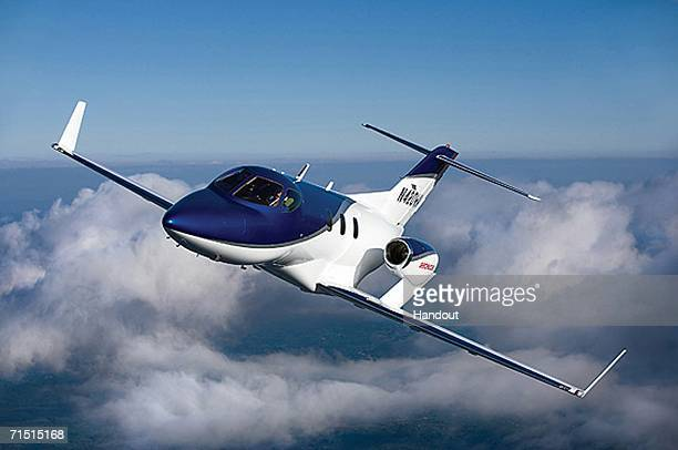 HondaJet Compact Business Jet is seen in this undated file photo Honda announced July 25 2006 that it would begin accepting sales orders for its...