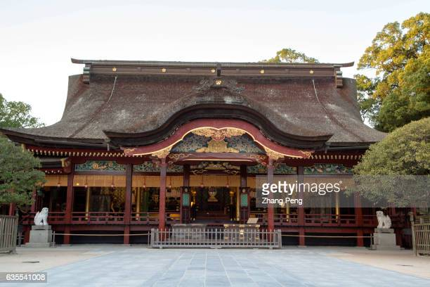 Honden dated back to 1591 and a fine example of Momoyamastyled architecture Dazaifu Tenmangu is a shrine in memorial of Michizane Sugawarawho is...