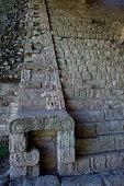 Honduras Copan Ruins Mayan Archaelogical Site Hieroglyphic Stairway