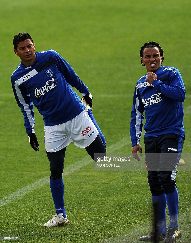 defender mauricio sabillon l pictures getty images defender mauricio sabillon l and midfielder julio cesar de leon r