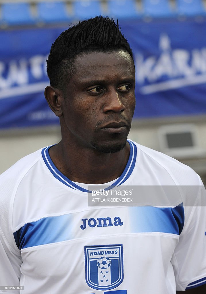 Honduras' Edgar Alvarezis is seen prior to their friendly match against Belarus in the local stadium of Villach, on May 27, 2010 prior to the FIFA World Cup 2010 hosted by Africa between June 11 and July 11. The match ended with 2-2 equal.