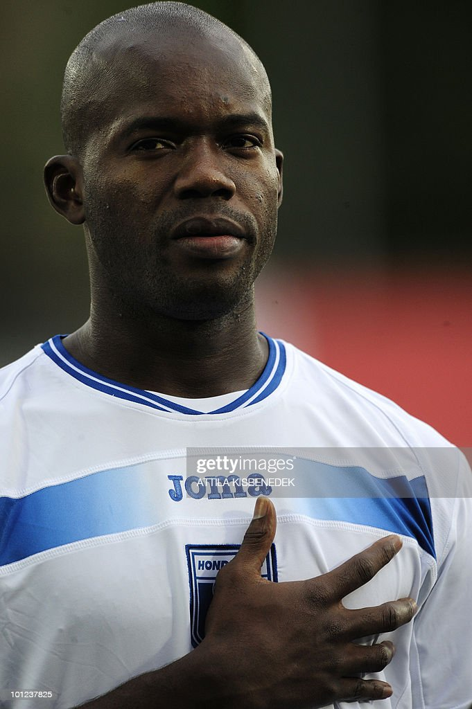 Honduras' Osman Chavez is seen prior to their friendly match against Belarus in the local stadium of Villach, on May 27, 2010 prior to the FIFA World Cup 2010 hosted by Africa between June 11 and July 11. The match ended with 2-2 equal.