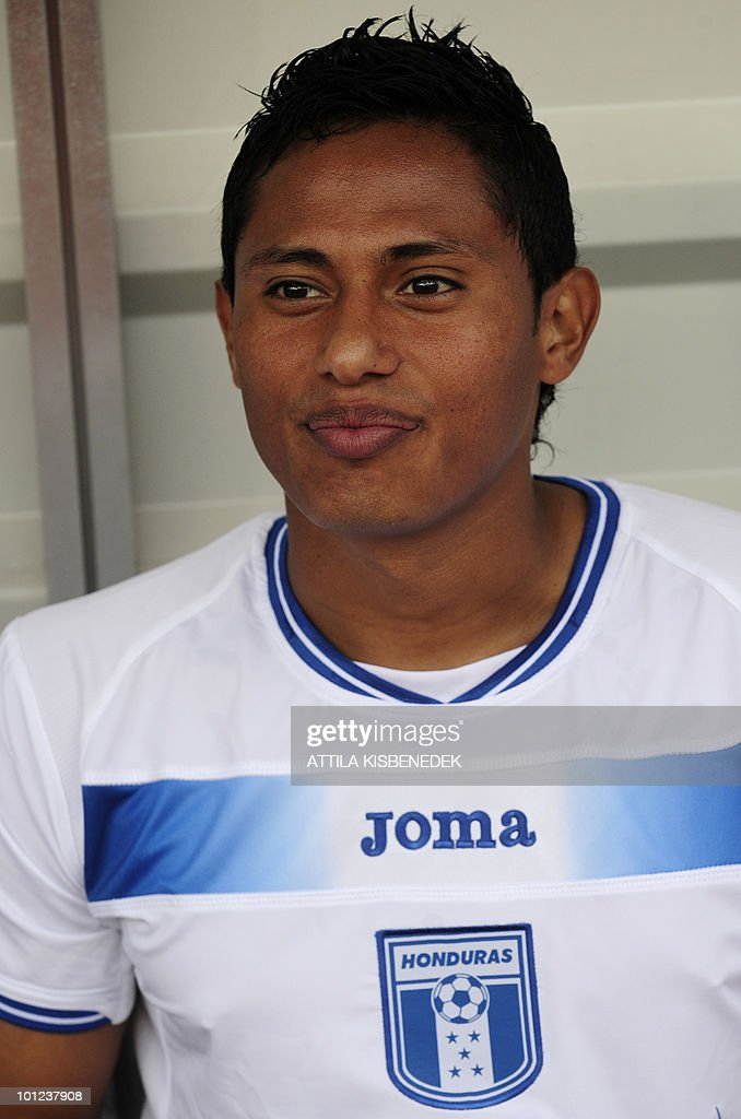 Honduras' Ramon Nunez is seen prior to their friendly match against Belarus in the local stadium of Villach, on May 27, 2010 prior to the FIFA World Cup 2010 hosted by SouthAfrica between June 11 and July 11. The match ended with 2-2 equal.