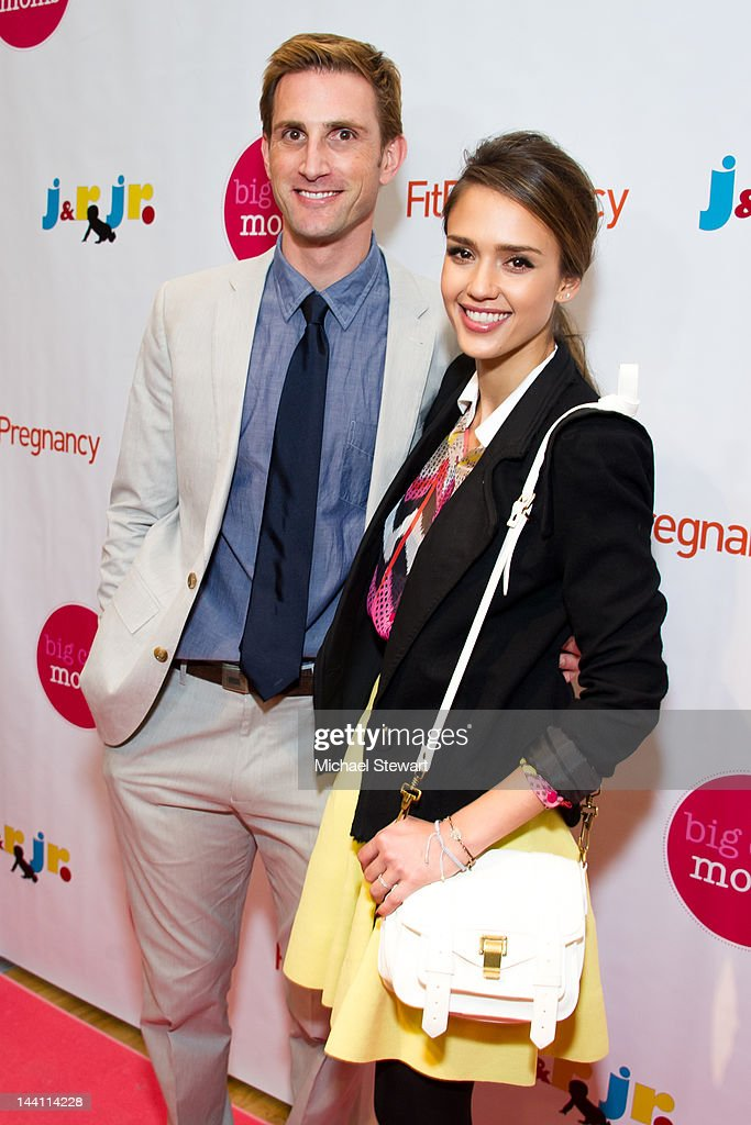 Honest Company founder <a gi-track='captionPersonalityLinkClicked' href=/galleries/search?phrase=Christopher+Gavigan&family=editorial&specificpeople=599440 ng-click='$event.stopPropagation()'>Christopher Gavigan</a> (L) and actress <a gi-track='captionPersonalityLinkClicked' href=/galleries/search?phrase=Jessica+Alba&family=editorial&specificpeople=201811 ng-click='$event.stopPropagation()'>Jessica Alba</a> attend the Big City Moms Biggest Baby Shower Ever produced by Big City Moms and Fit Pregnancy on May 9, 2012 in New York City.