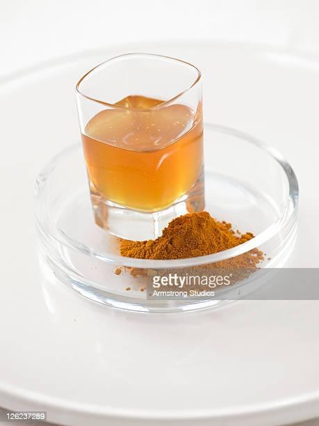Honey and Turmeric Powder
