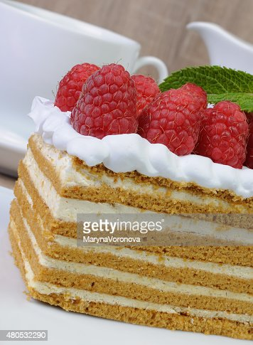 honey cake : Stock Photo