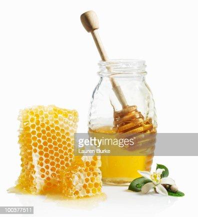 Honey Comb with Orange Blossom