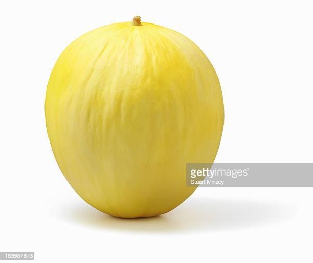 Honey dew melon on white background