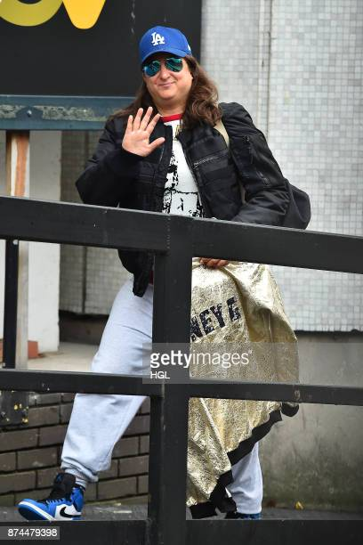 Honey G seen at the ITV Studios on November 15 2017 in London England
