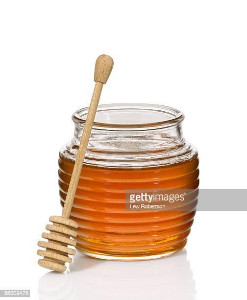 Honey jar and dipper