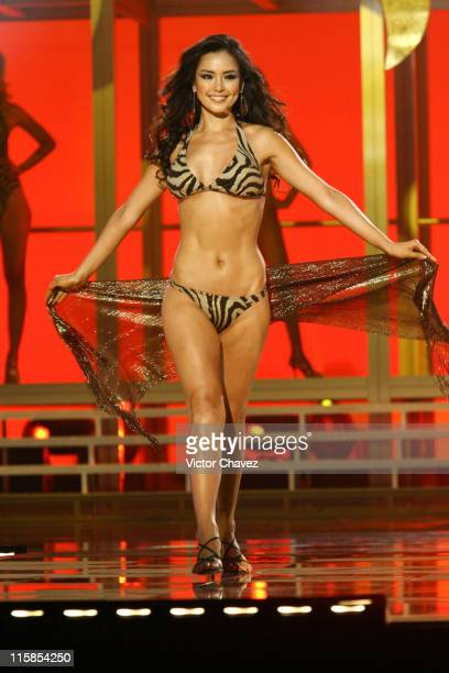 Honey Lee Miss Universe Korea 2007 during Miss Universe 2007 Show at Auditorio Nacional in Mexico City Mexico City Mexico