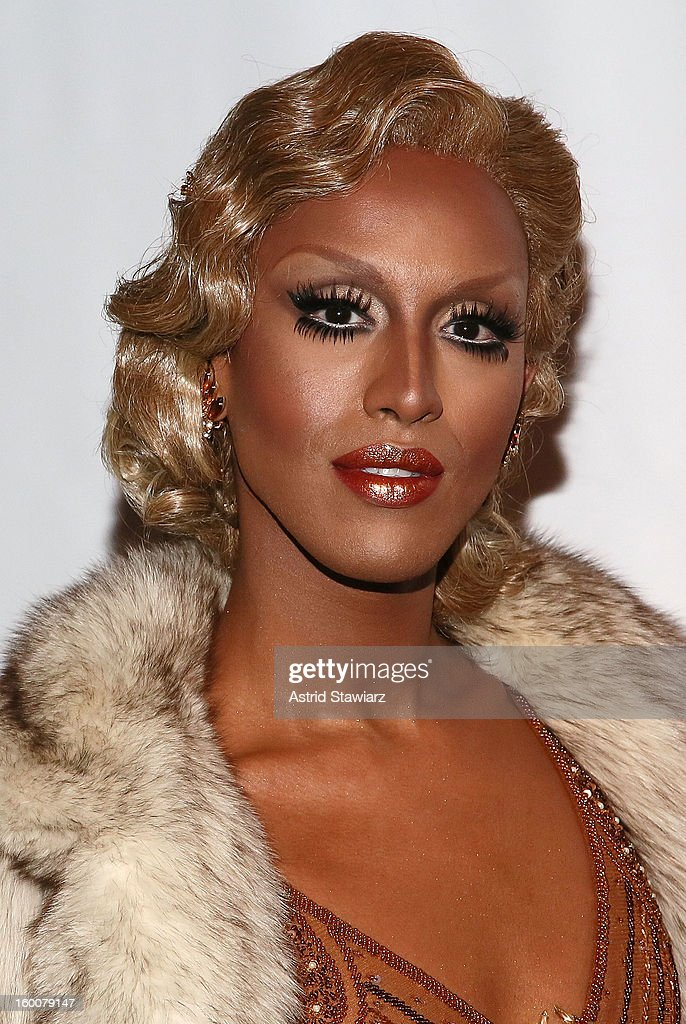 Honey Mahogany attends 'Rupaul's Drag Race' Season 5 Premiere Party at XL Nightclub on January 25, 2013 in New York City.