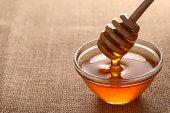 Honey on Burlap
