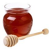 Honey pot with dipper